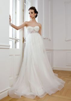 Maternity wedding dressesnormally have an mepire wait line. This ...