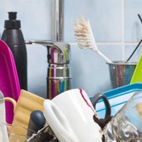 Erwischt! Darum ist deine Wohnung IMMER unordentlich Erwischt - küche putzen tipps