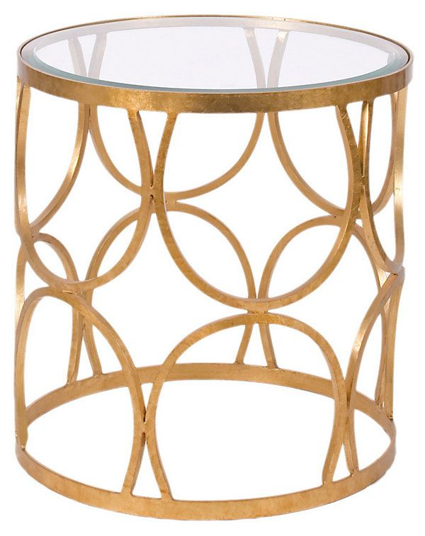 Grace Side Table Gold