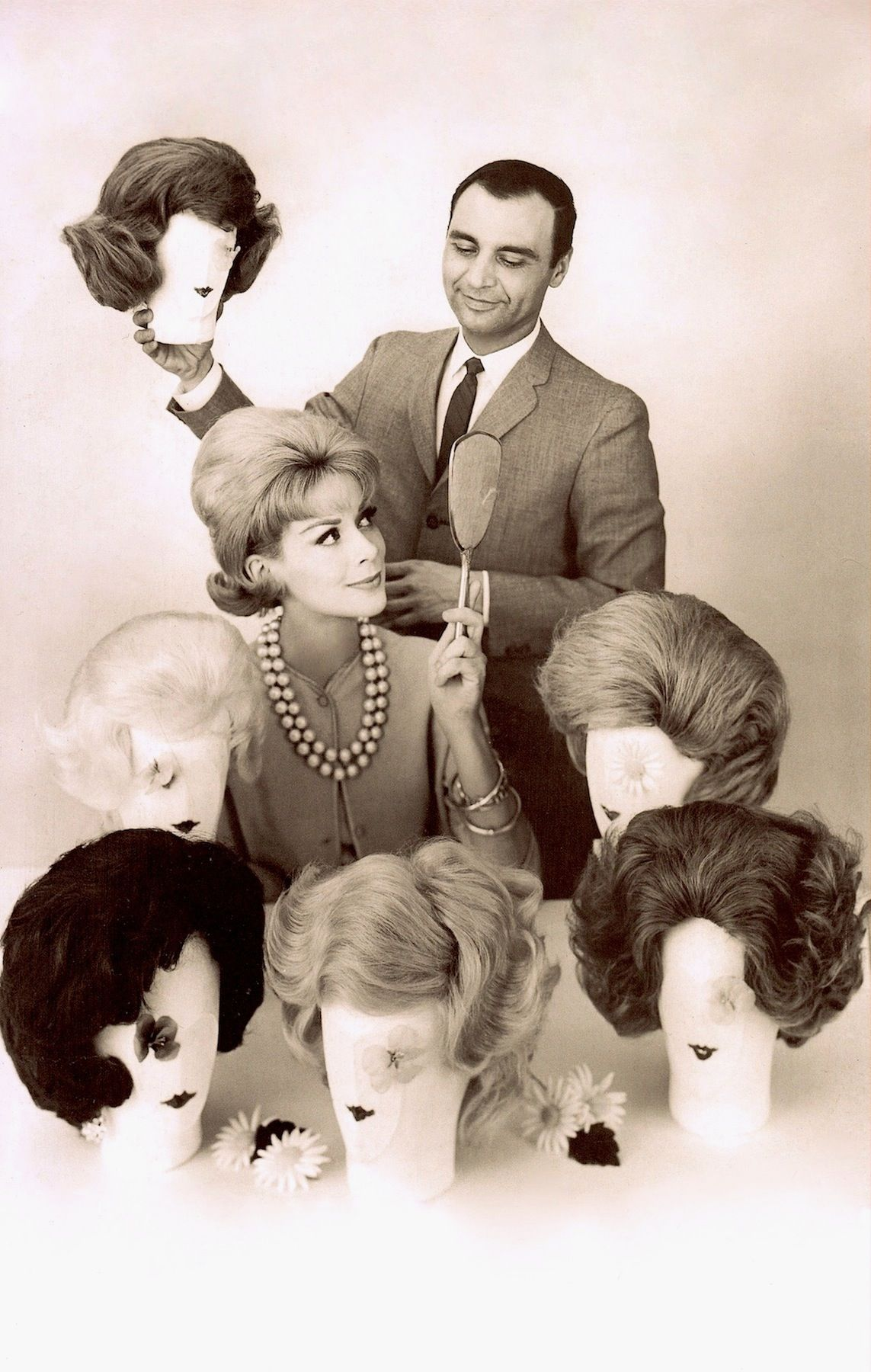 Dynel wigs april from sixties fashion from uless is moreu to