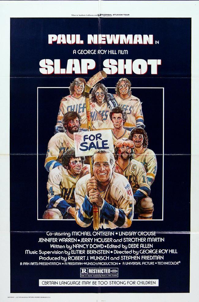 The Greatest Hockey Movie Ever Made Slap Shot Movie Slap Shot Movie Posters