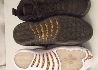 2ce345186b38 THE SNEAKER ADDICT  Drake x Air Jordan 12 OVO Stingray Sneaker Pack (Images)