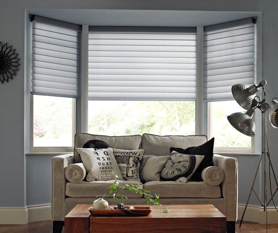 Home Design Ideas Bay Window: Blinds For Bay Windows Ideas Home Interior Design Decor