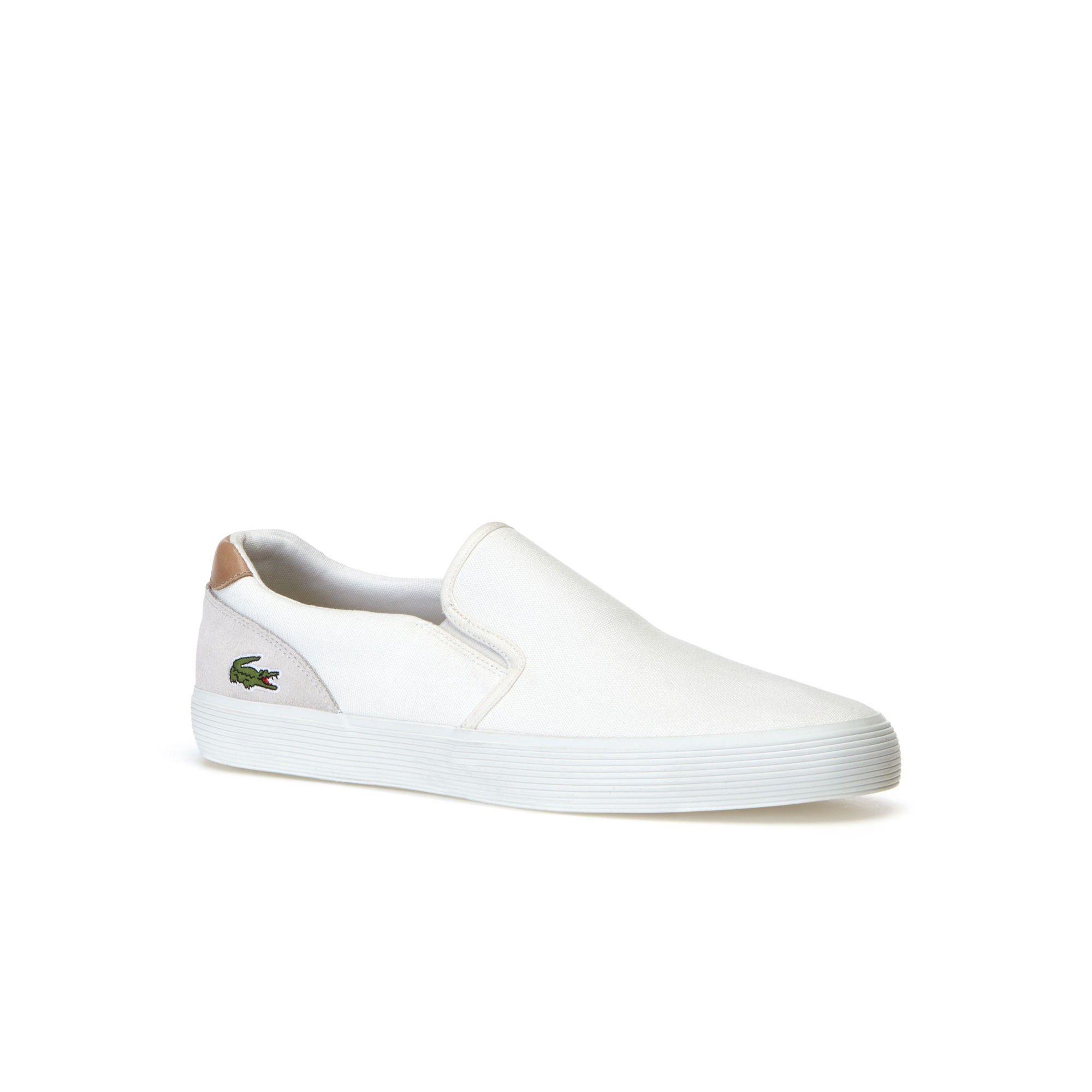 a79610f2d574da LACOSTE Men s Jouer Slip-Ons - off white.  lacoste  shoes  all ...