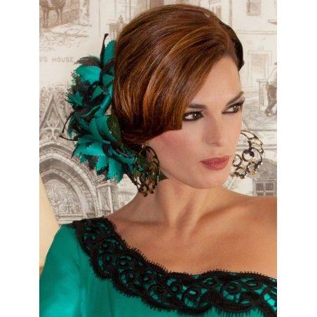 Diferentes versiones peinados flamenca 2021 Colección de estilo de color de pelo - SOLERA en 2020   Trajes de flamenco, Peinados españoles ...