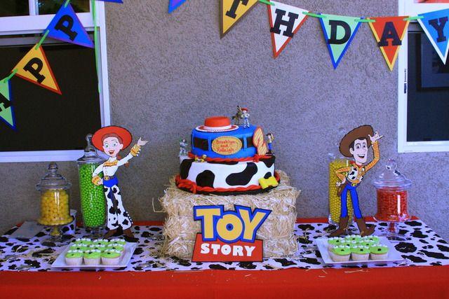 Awesome B Hs 2Nd Birthday Birthday Toy Story Ideas Toy Story Personalised Birthday Cards Arneslily Jamesorg