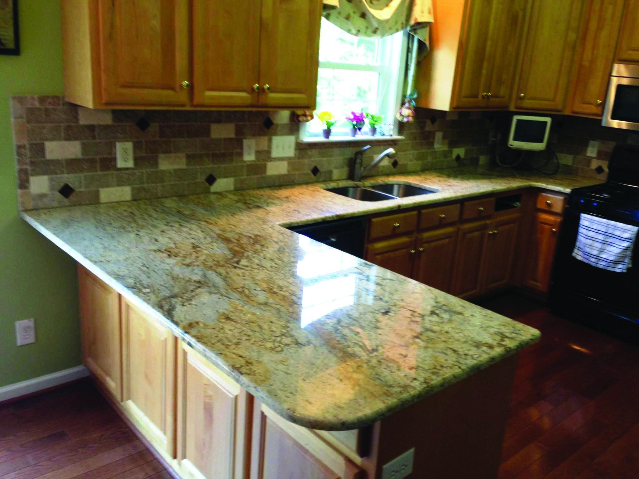 New Venetian Gold Stone Brown Granite Countertops Granite