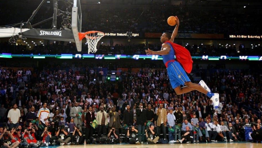 Nba Player Dunking With Cape Google Search Nba Scores Sports Nba