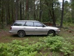 This Is A 1991 Subaru Legacy Wagon We Had The 1992 Turbo In Maroon Good Car
