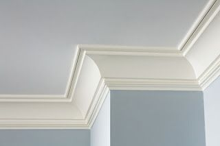 My favorite Crown Molding - simple and elegant plus paint