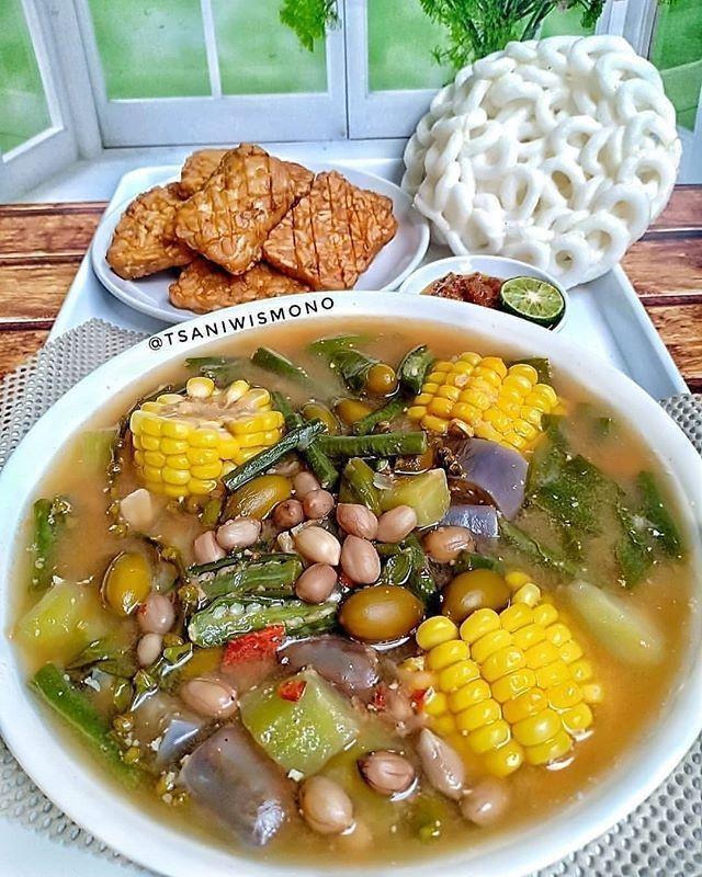 Resep Sayur Asem Sederhana : resep, sayur, sederhana, Resep, Sayur, Sederhana, Masakan,, Makanan, Cina,, Masakan