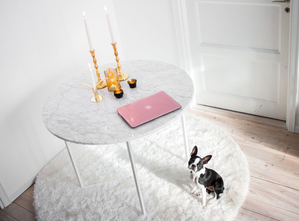 Runt marmorbord (Annica Englund, Skönhet & Livsstil