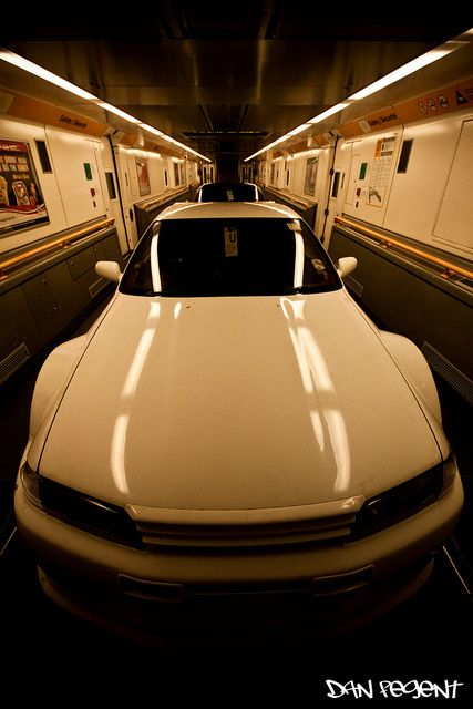 Skyline R32 GTR in the Eurotunnel ;) Join our board for the best #Slammed & #Stance #JDM rides on the interwebs.