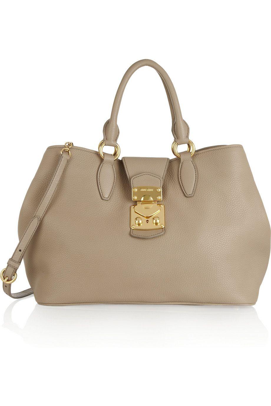 Explore Bolsas De Mulheres, Bolsas De Grife e muito mais! Miu Miu   Leather  tote ... 5349733196