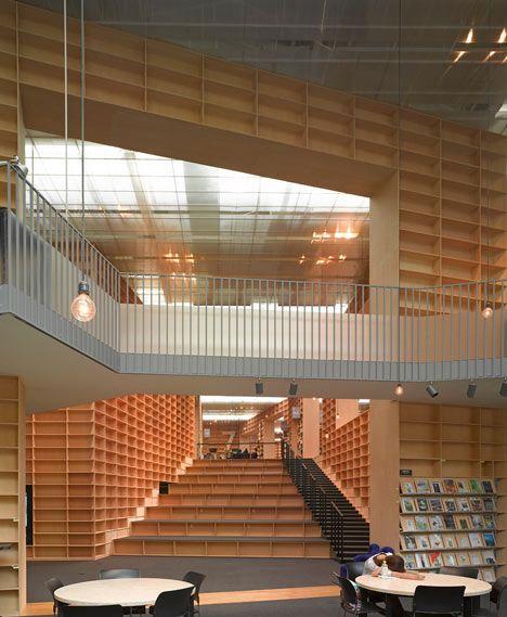 musashino art university library by sou fujimoto architecture modern mid century modern. Black Bedroom Furniture Sets. Home Design Ideas