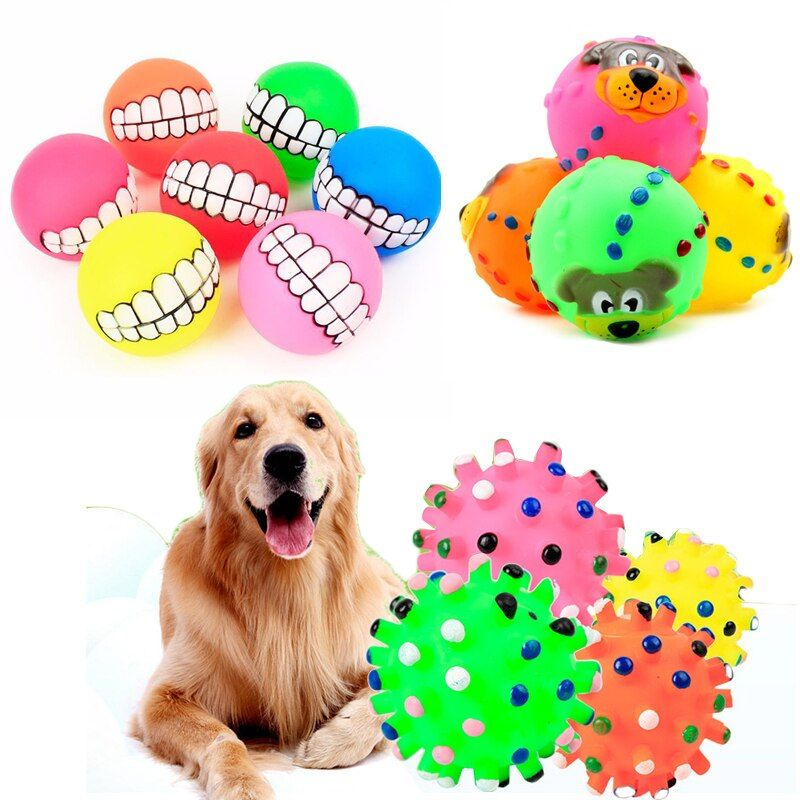 Pet Dog Toys Puppy Funny Interactive Chew Toys For Small Dog Resistant To Bite Teeth Training Rubber Ball Dog Toys Pet Supplies Interactive Dog Toys Stimulating Dog Toys Toy Puppies