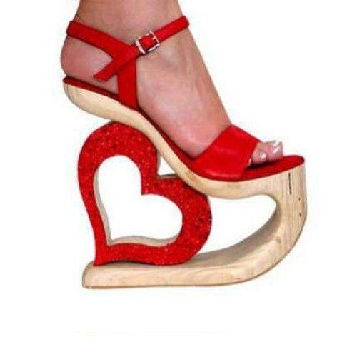 Red Heart Heels ALL KINDS OF FIERCE!!