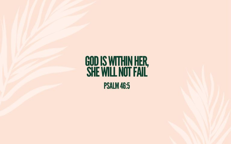 Free Psalm 46:5 Wallpaper via Debra Shives at The Shives Hive   He is real   Pinterest   Psalm ...