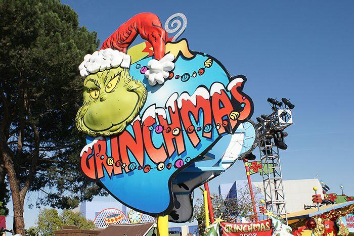 Grinchmas-Entrance Marquee: Universal Studio Hollywood California