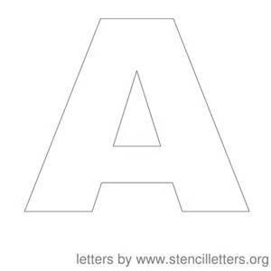 graphic about 4 Inch Letter Stencils Printable called 4 Inch Printable Alphabet Letters Templates - Bing visuals
