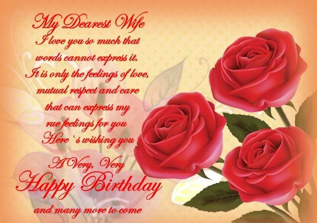 Happy Birthday Wishes Quotes Images Cards And Messages For Wife