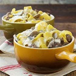 Photo of Original Ranch Beef & Noodle Skillet Recipe Recipe