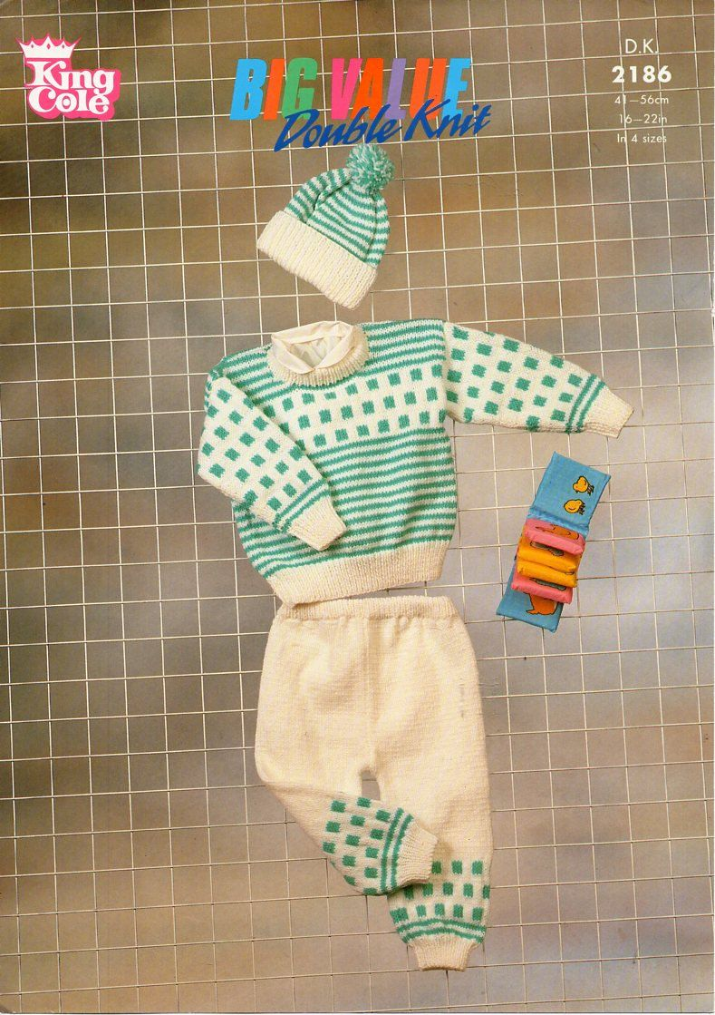 39e67a97105f baby sweater trousers cap knitting pattern pdf download baby boys ...