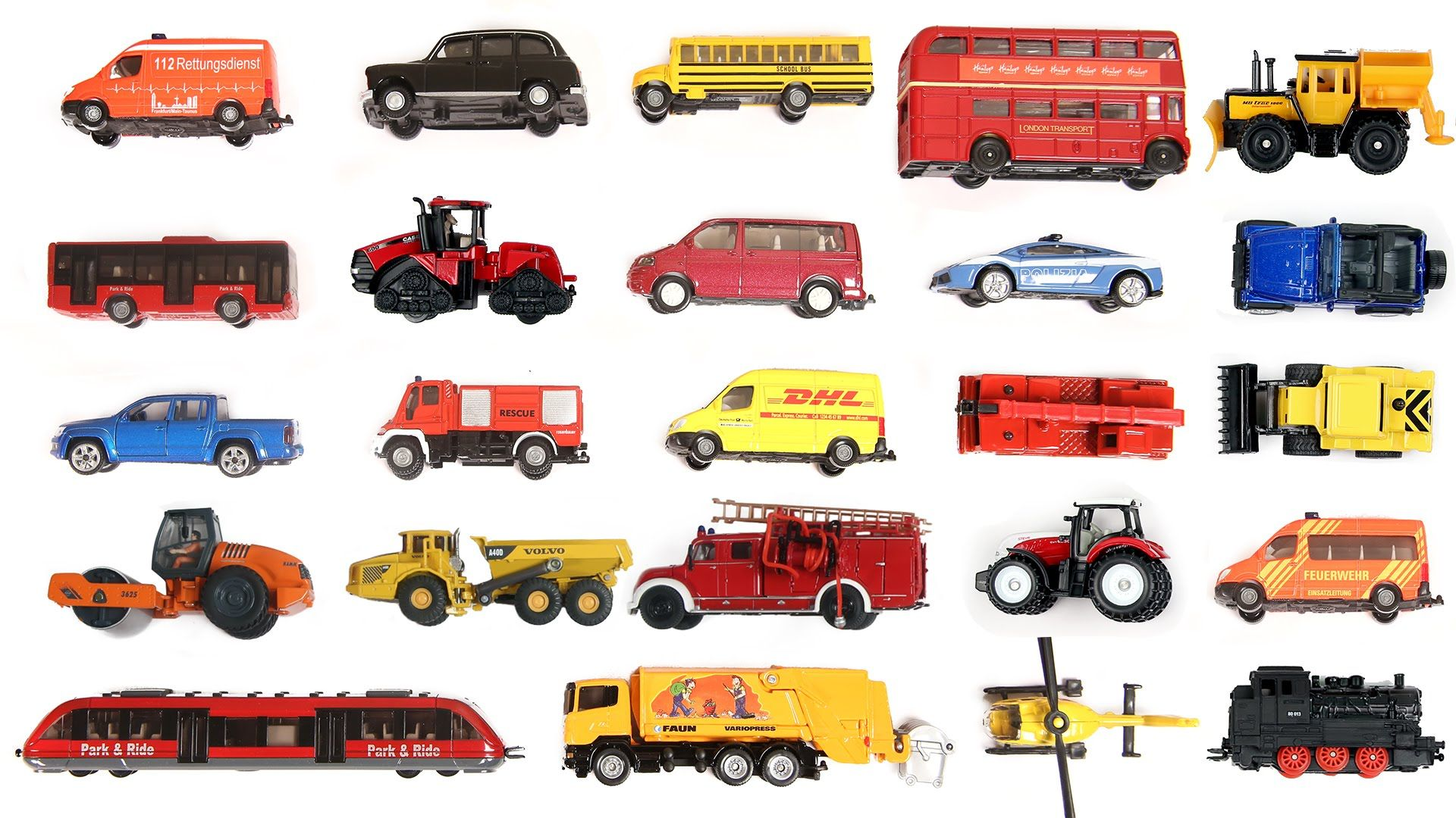 Learn Names And Sounds Of Different Vehicles From This Video Such