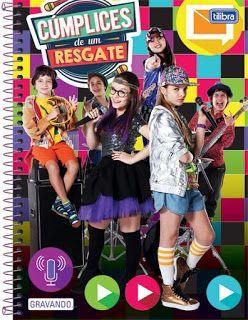 Mundo Teens  Tilibra lança cadernos de Cumplices de Um resgate Livro Da Larissa  Manoela, aa32e43f50