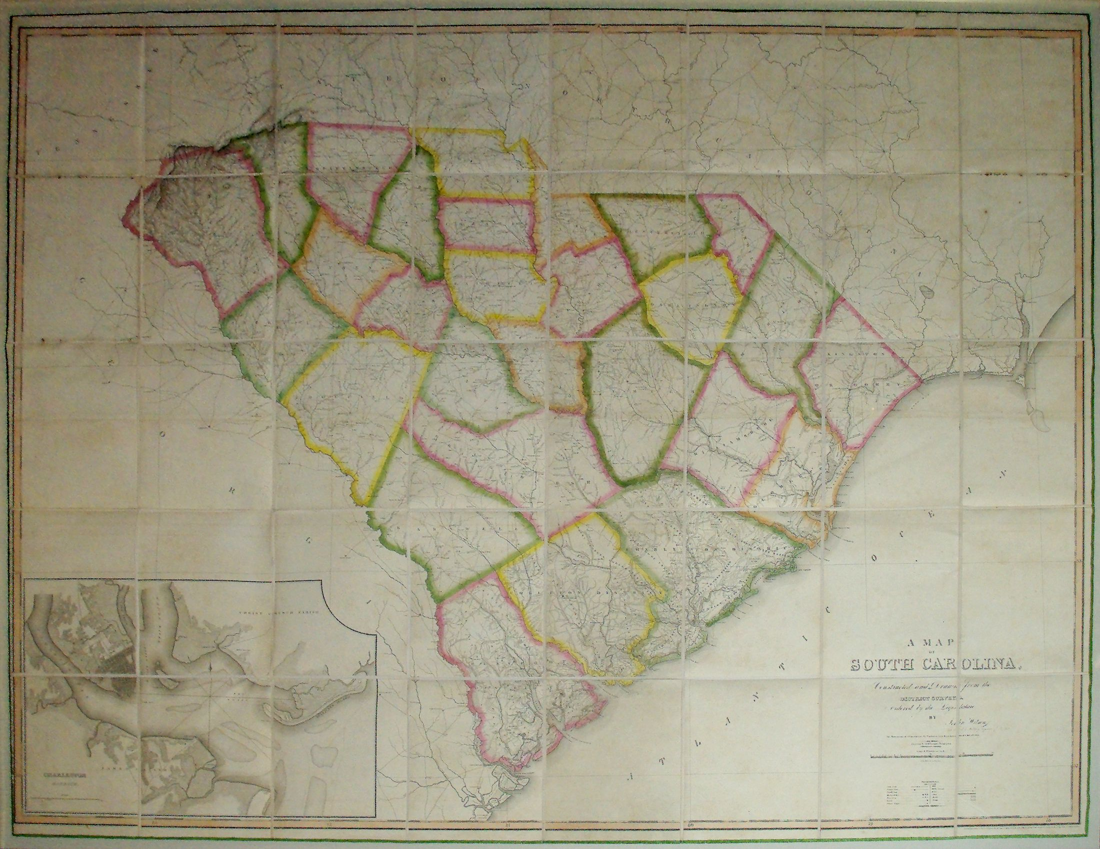 John James Wilson u2014 Map of South