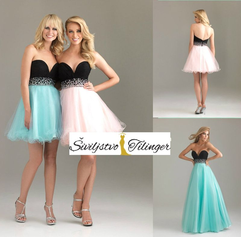 Strapless dress formal