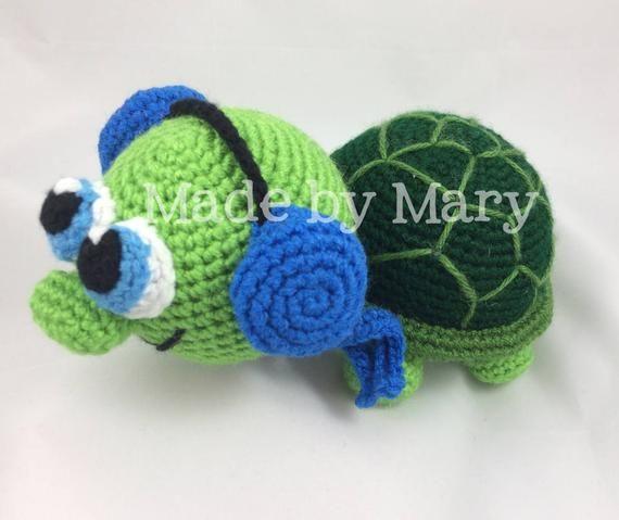 PDF PATTERN: Turtle Amigurumi *Crochet Pattern Only, Not Actual Doll* Crochet Turtle #crochetturtles