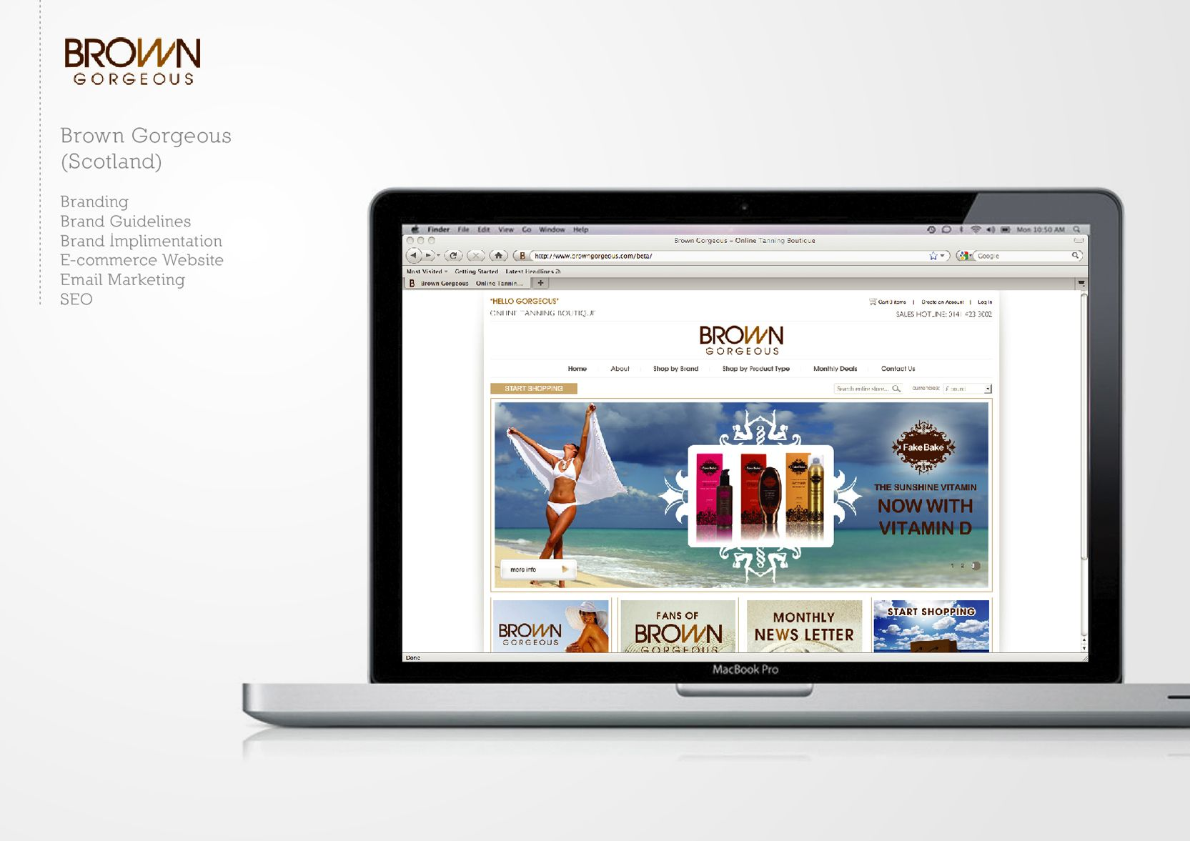 Client: Brown Gorgeous  #branding #creative #design #marketing #web