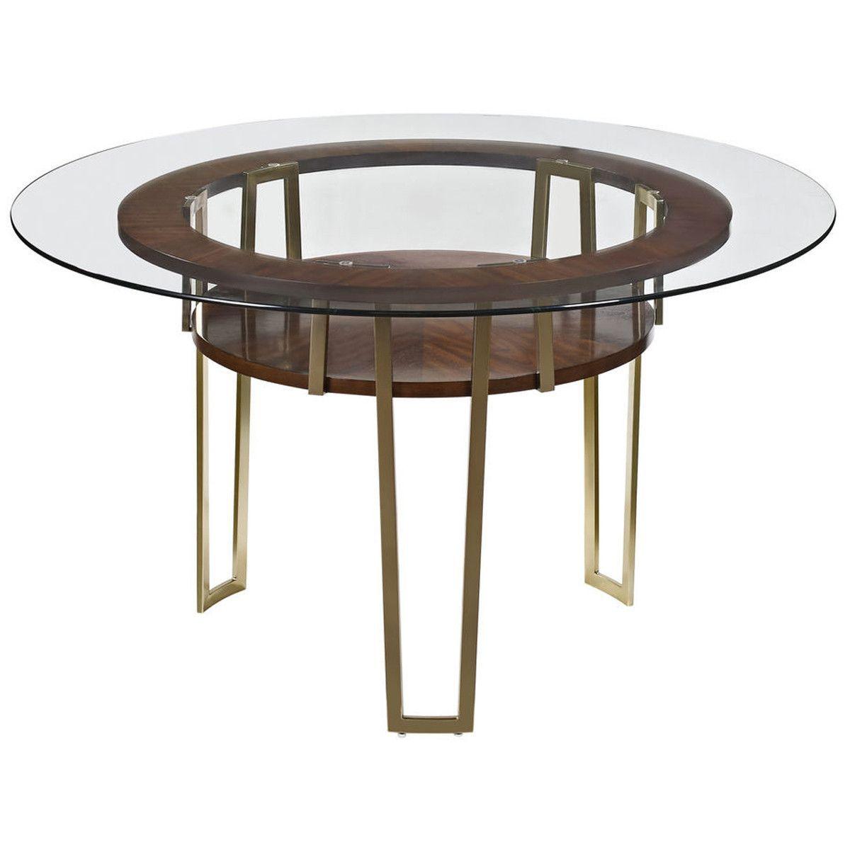 Bassett Mirror Thoroughly Modern Cornell Dining Table