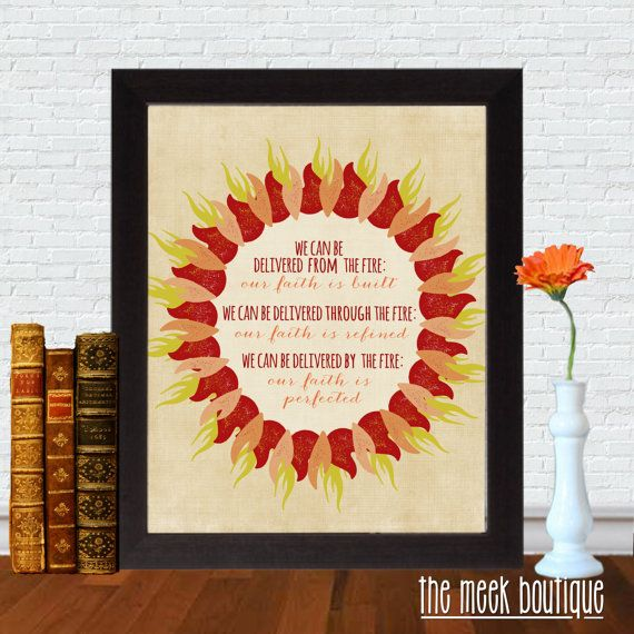 Beth Moore Quote Daniel Refined Through Fire Printable
