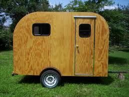Plywood Caravan Plans