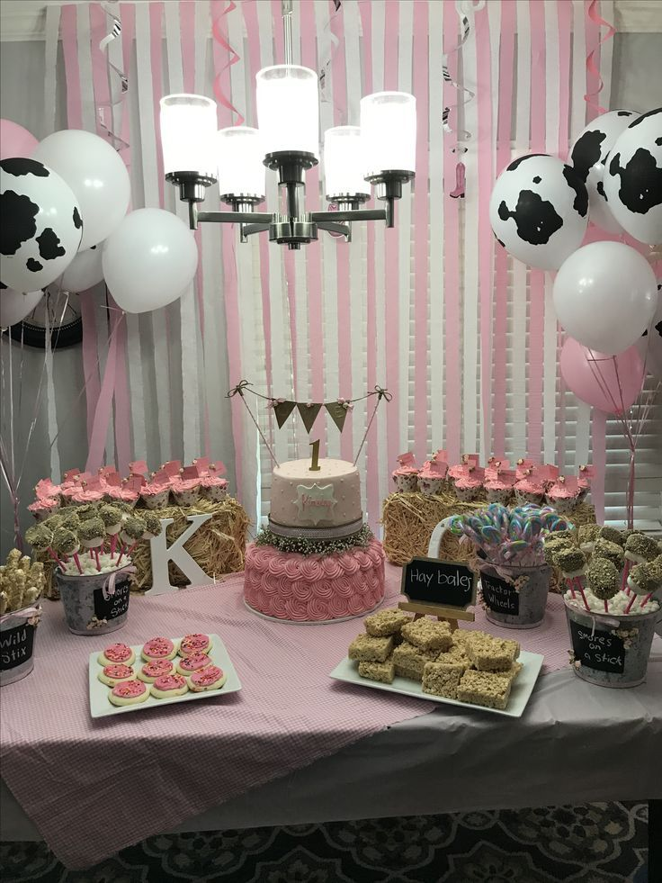 Country girls first birthday party (With images) Farm