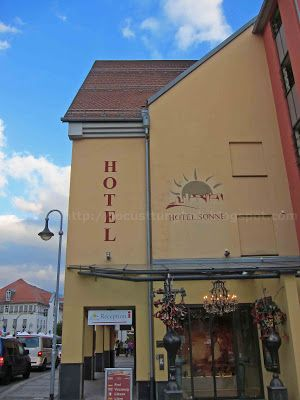 Hotel Sonne Fussen Germany Other Stuff About My Travels