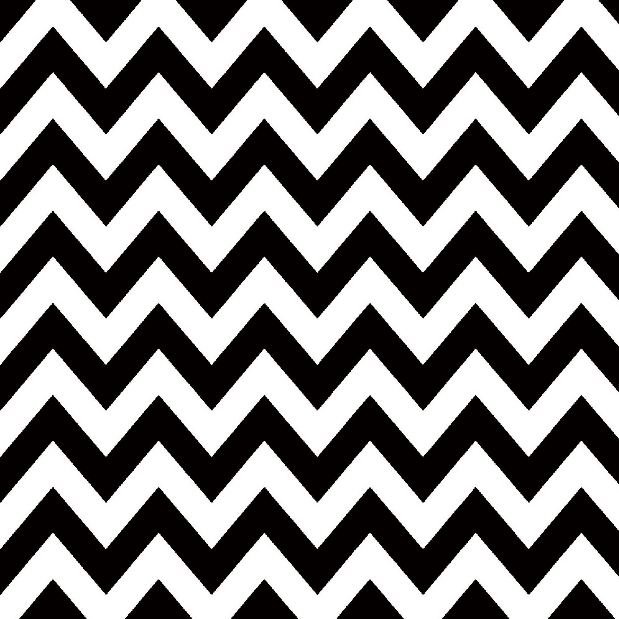 Wallpaper Chevron Preto E Branco Geometrico Zigzag Black And