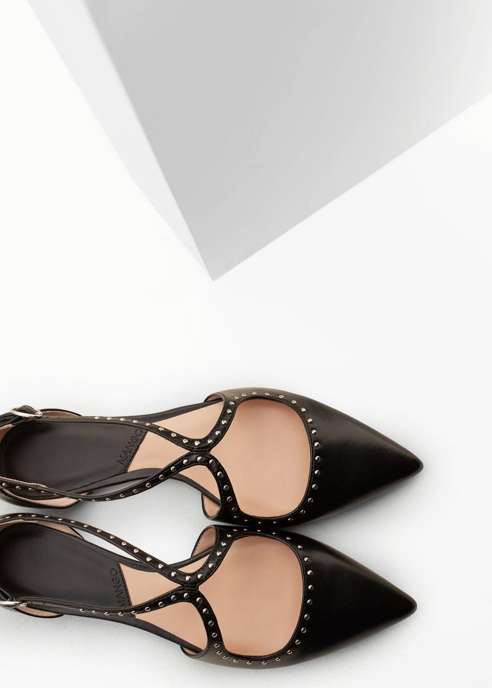 Zapato Y Plano Tachuelas Planos MujerZapatos 8NwXOkPn0