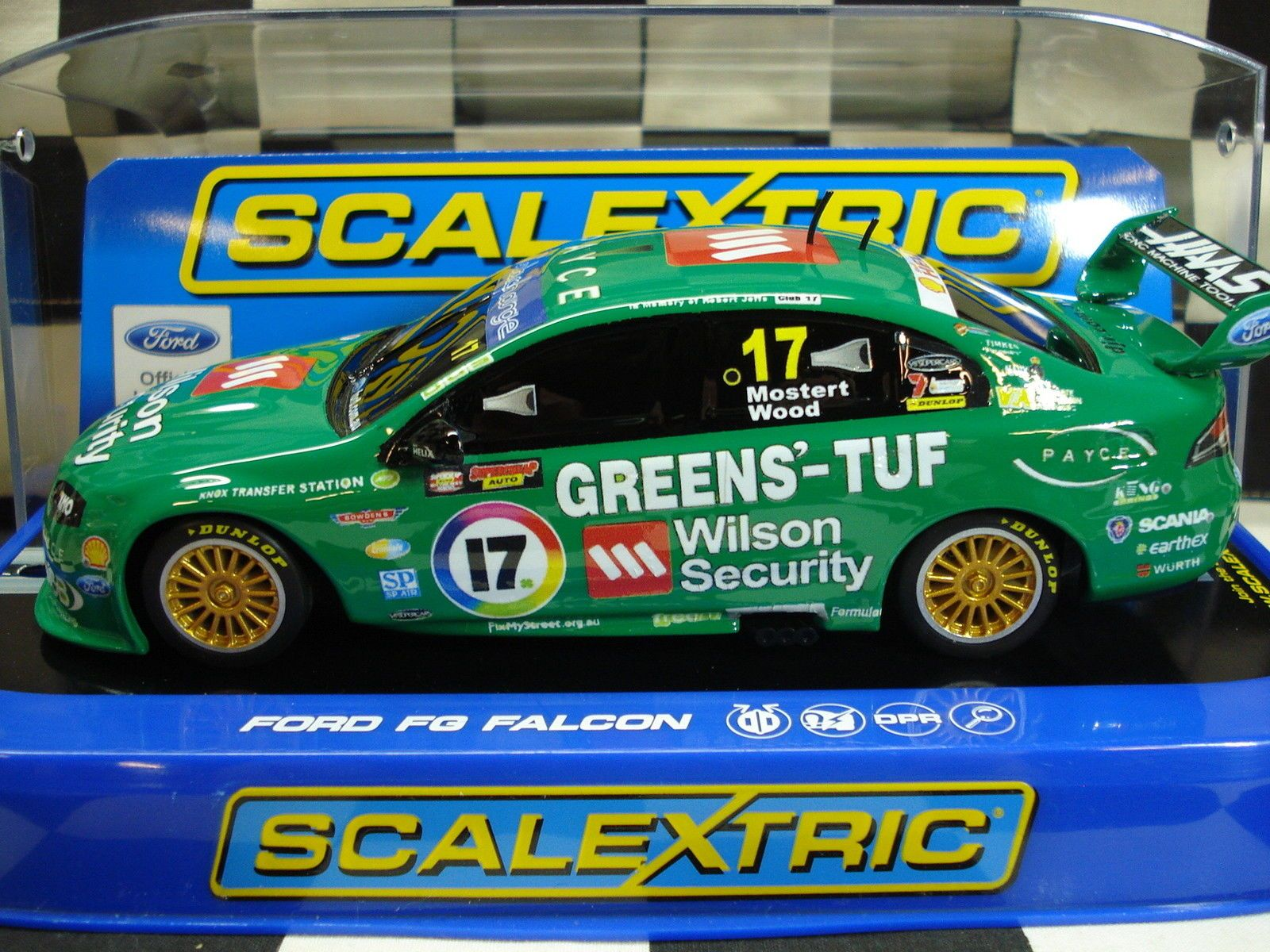 Scalextric 1 32 Ford V8 Supercar Custom Painted Ebay Super Cars 32 Ford Ford V8