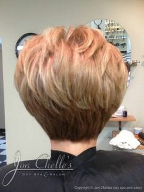 Short Stacked Hairstyles Impressive Stacked Short Hair Cuts  Short Haircuts Back View Stacked