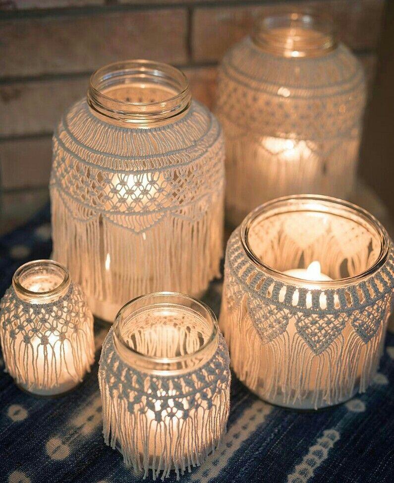 Boho Small Table Lamp