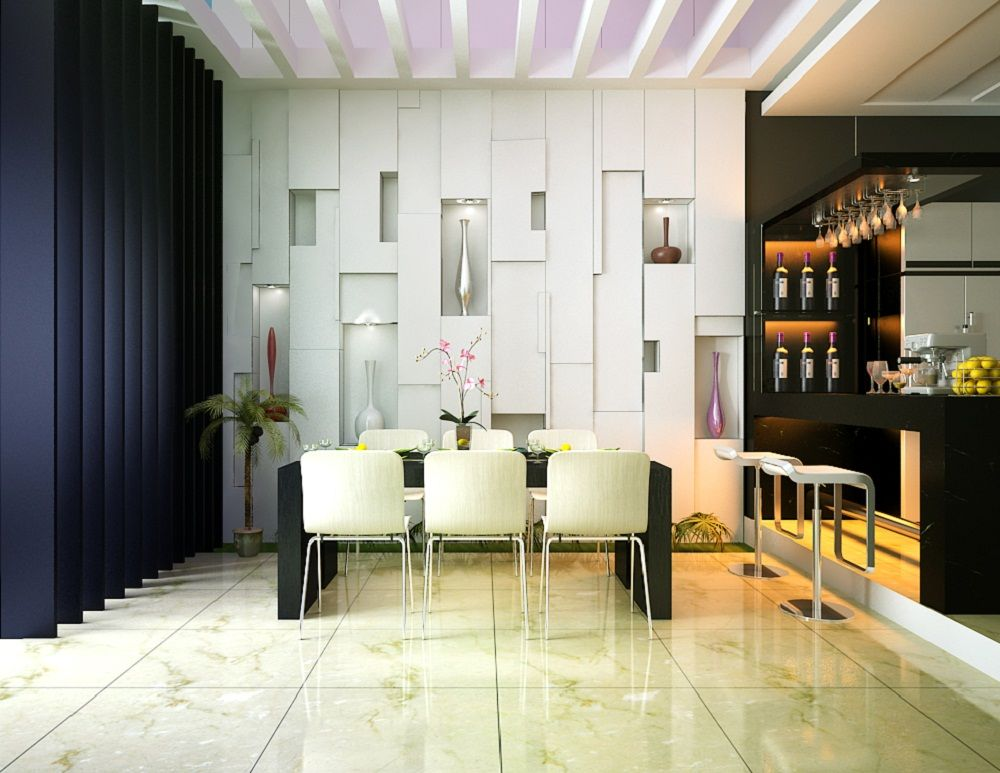Bright Modern Interior Design With Contemporary Home Bar And Stainless Stool Ideas Inspirational For Your