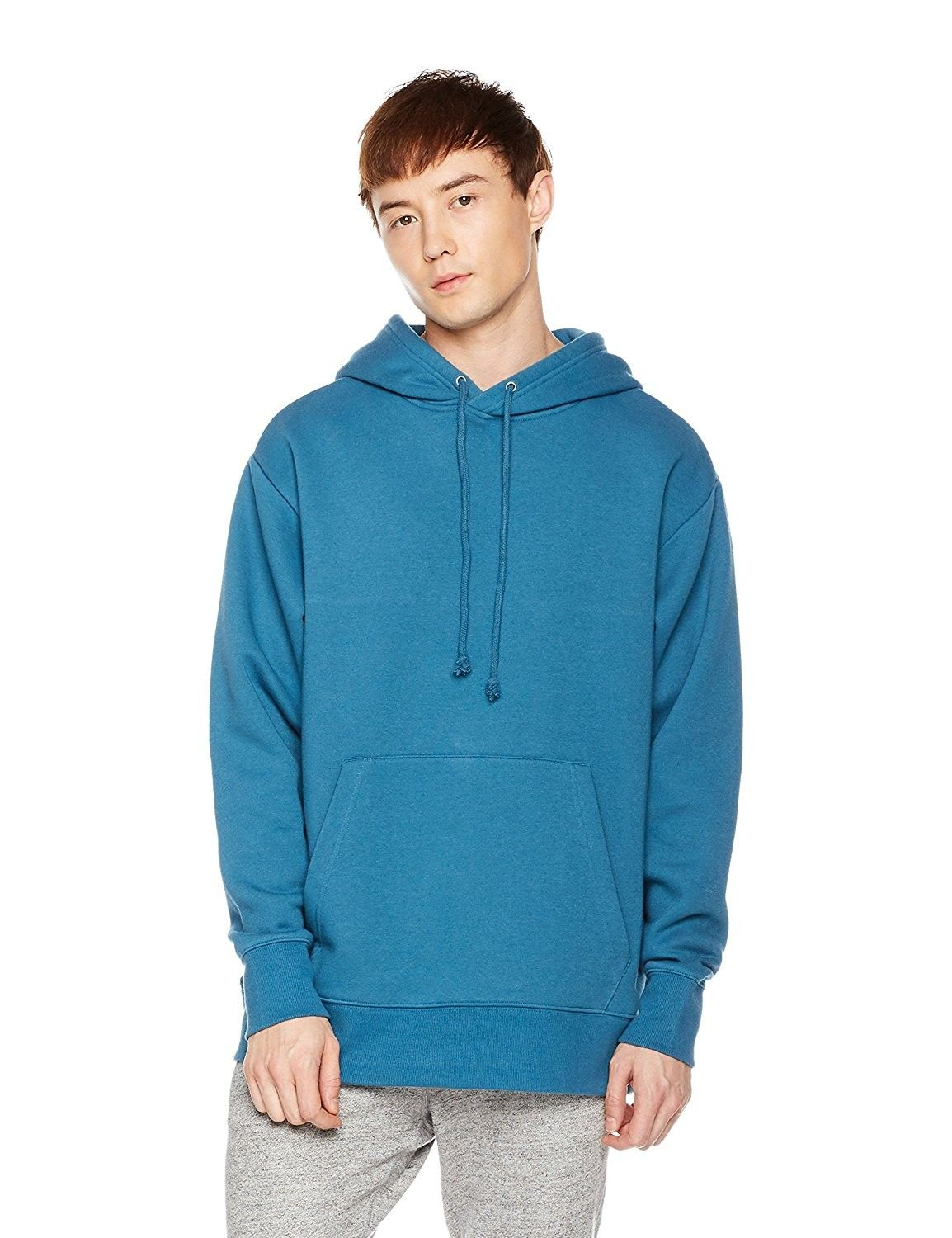 Men S Pullover Fleece Hoodie Blue Ashes Cc186ze8u6g Mens Fashion Sweaters Mens Outfits Pullover Men [ 1500 x 1154 Pixel ]