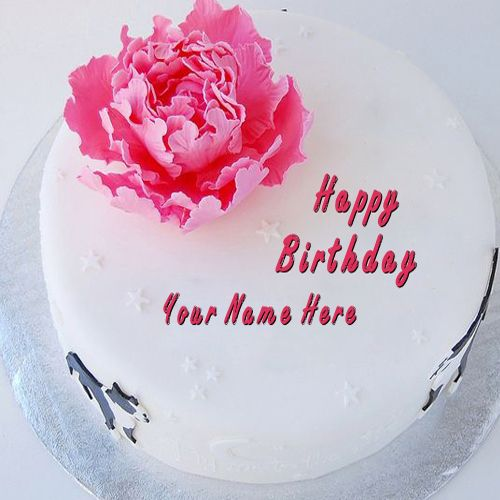 Write Your Name On Cakes Here You Can Write Names On Birthday Cakes