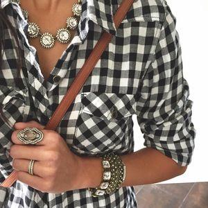 Modern Deco Stretch Bracelet   Chloe + Isabel