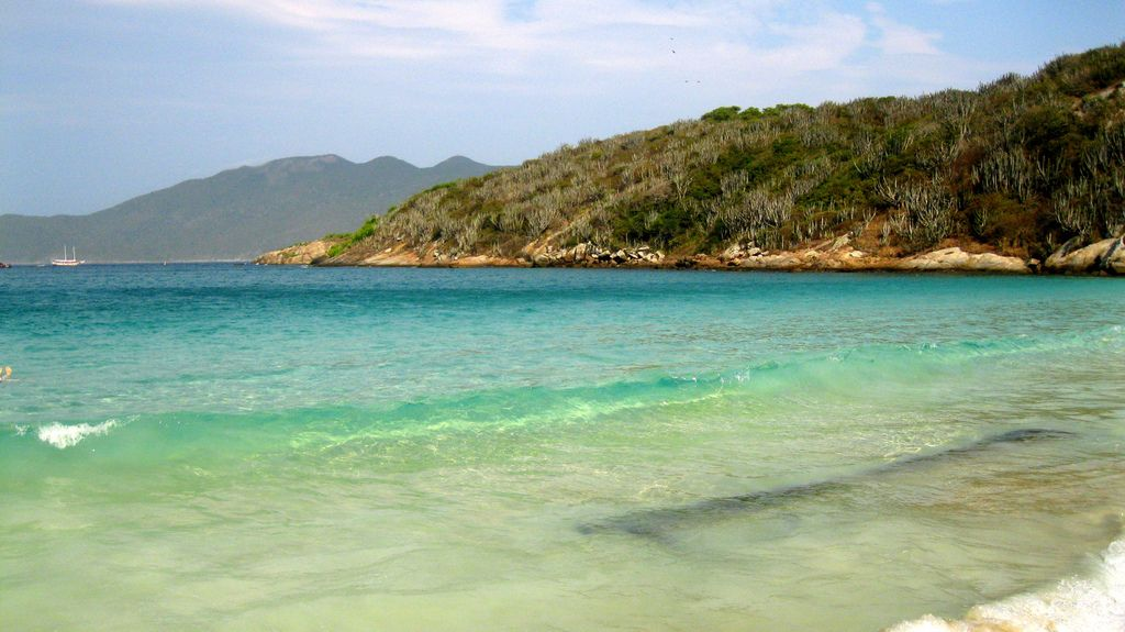 Praia Do Forno Arraial Do Cabo Rj Brasil Nature Beach Water