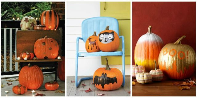 35 Fun Painted Pumpkin Ideas for the Best-Ever Halloween Pumpkin ideas - halloween pumpkin painting ideas