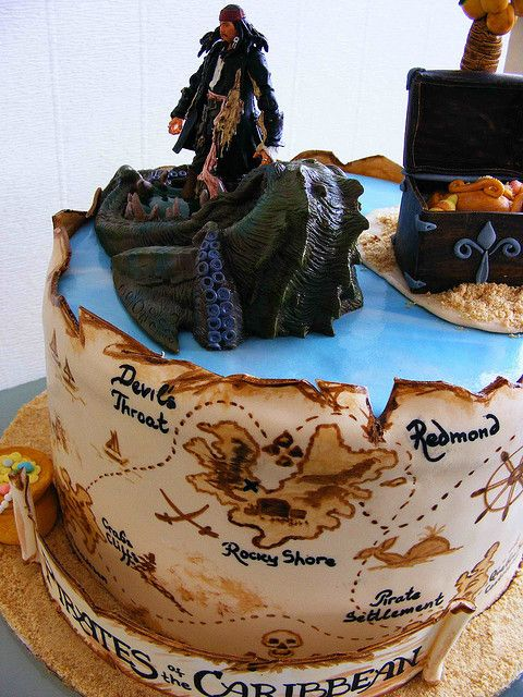 Fantastic Lyuba Zlatkova Disney Birthday Cakes Pirates Of The Caribbean Funny Birthday Cards Online Aeocydamsfinfo